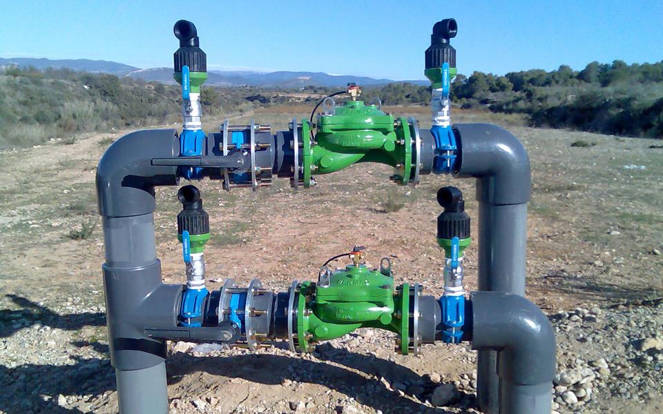 Galer a de trabajos realizados hidroserveis for Aspersores para riego de jardin